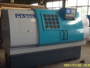 CNC Lathe (CK 500) pictures & photos