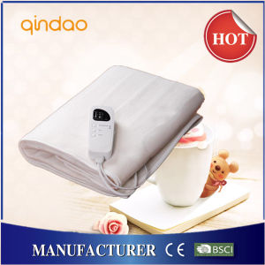 100% Polyester Electric Heated Blanket with Computer Adjusting Controller pictures & photos