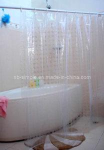 Transparent -Clear-Shower- Curtain (SC5032)