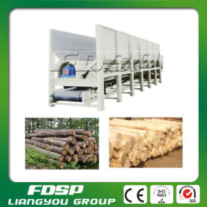 Double Roller Rotary Wood Peeling Machine with CE for Sale pictures & photos