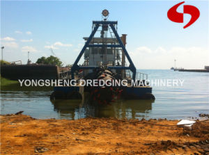Cutter Suction Sand Dredger with Dredge Depth 15m pictures & photos