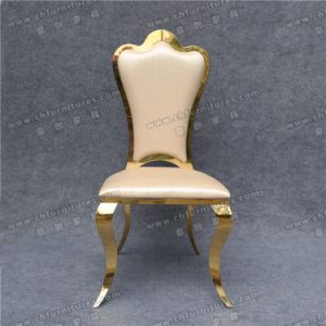 Elegant Classic Stainless Steel High Quality Throne Chair Yc-Zs27 pictures & photos