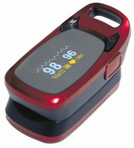 CE Approved Fingertip Pulse Oximeter pictures & photos
