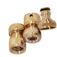 Push in Connect Quick Brass Hose Connector pictures & photos