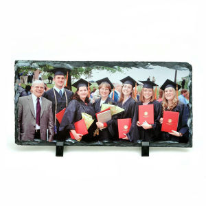 Sublimation Photo Slate with Rock Slate Gifts pictures & photos
