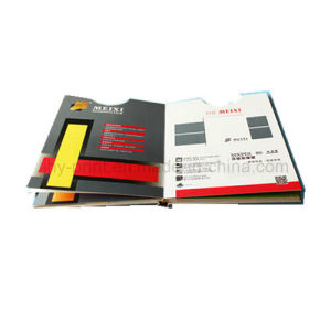 Special Designing Die Cut Hardcover Book /Catalogue Printing Service (jhy-341) pictures & photos
