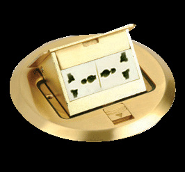 Floor Socket, Floor Double Socket pictures & photos