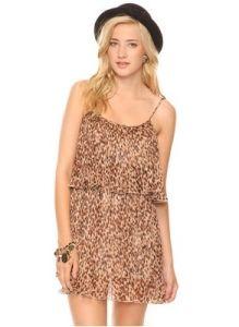 Ladies′ Leopard Bodycon Dress