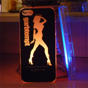 LED Flashing Case for iPhone 4 / 4G / 4s / 5 pictures & photos