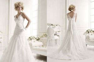 A-Line Lace Wedding Dress (JM-1212)