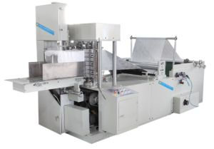 Disposable Cleaning Cloth, Dishcloth and Wipe Cloth Cutting and Folding Machine