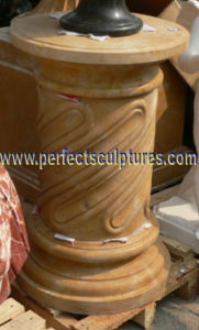 Stone Marble Granite Roman Column Pillars for Architecture (QCM121) pictures & photos