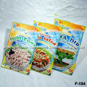 Printing Three Side Sealed Plastic Food Bag pictures & photos