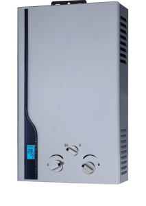 Gas Water Heater with 24kw Power 12L Capacity and LED Display