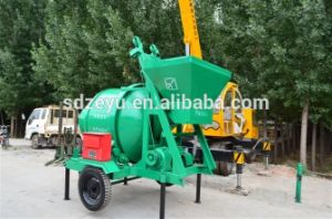 China Portable Concrete Mixer Jzc350 pictures & photos