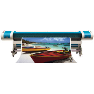 3.2m High Precision Solvent Inkjet Printer/Large Format Printer