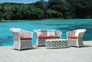 Rattan Garden Outdoor Wicker Sofa pictures & photos