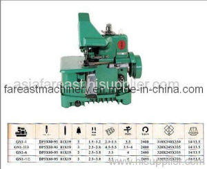 Medium-Speed Overlock Sewing Machine (GN1-1C) pictures & photos