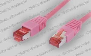 Duble Shielded CAT6 S/FTP Network Patch Cord pictures & photos