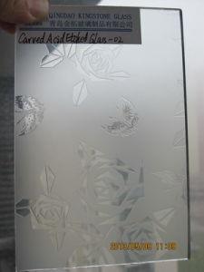 3mm-12mm Carver Acid Etched Glass