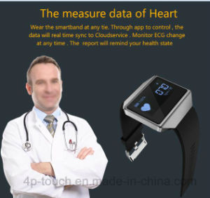 IP67 Waterproof Smart Bracelet with Heart Rate Monitor pictures & photos