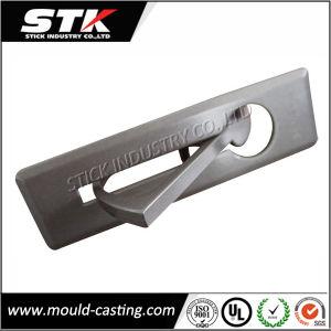 Zinc Alloy Die Casting Door Lever Handle on Plate (ISO, SGS) pictures & photos