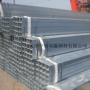 A53 Square Galvanized Steel Pipes in China Supplier pictures & photos