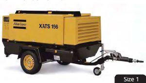 Atlas Copco Portable Screw Air Compressor (XATS156Dd) pictures & photos