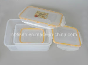 Plastic Lunch Box/Food Storage Container (TS-W5) pictures & photos