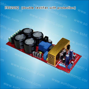 Irs2092 Top Class D Power Amplifier Board Double Rectifier pictures & photos