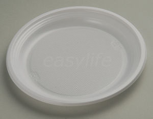 Easylife P082015 8′′ (20.5cm) Round Plate PS White pictures & photos