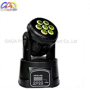 10W*7PCS RGBW 4 in 1 Professional Mini LED Moving Head Light LED Washing pictures & photos