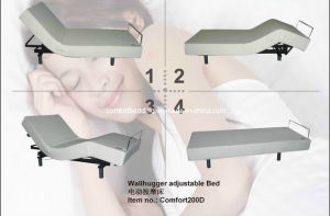 Wallhugger Adjustable Beds with Massage Function (Comfort 200D) pictures & photos