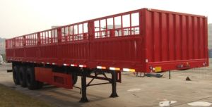 Cimc 40FT Tri-Axle Cargo Semi-Trailer Cimc Brand Truck Chassis pictures & photos