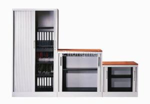 Roller Shutter Door Cabinet (LG-0918)