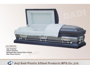 American Style Metal Casket (18129058) pictures & photos