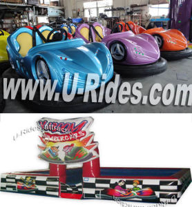 Battery Bumper Car with Race Track for park pictures & photos