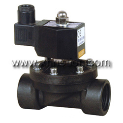 Plastic Water Normally Open Solenoid Valve pictures & photos