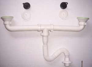 Double Sink Waste, Double Sink Drainer, Sink Waste pictures & photos