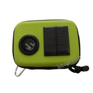 Solar Charger Speaker Bag