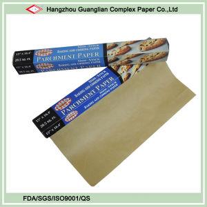 Unbleached Brown Parchment Paper Roll pictures & photos