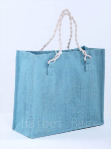 Environmental Protection Jute Shopping Bag (hbjh-65) pictures & photos