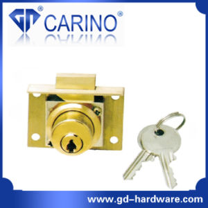 Full Brass Material Drawer Lock Furniture Lock (0501) pictures & photos