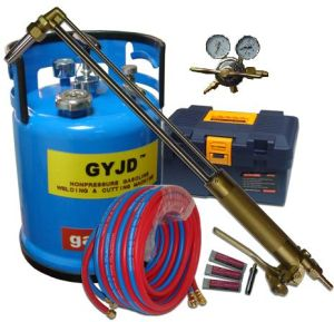 European Type Lever Oxy-Gasoline Flame Steel Cutting Machine