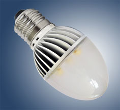 High Power LED Bulb Lamp (HOH1E-C50A-F-3CW-E27)