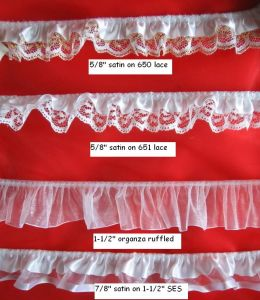 Hot Selling Ruffle Lace for Garments and Other Accessories pictures & photos