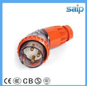Waterproof Australian Clipsal Male Angled Plug with SAA (56PA332)