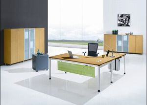 MFC Wooden Furniture Manager Table Office Table (DA-138)