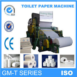 Chinese Famous Brand 1760 Mm Good Quality Paper Making Machine, Toilet Paper Machine pictures & photos