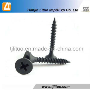 Black Phosphated Bugle Head Drywall Screws 3.5*50mm pictures & photos